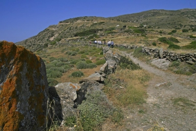 Footpaths of Sikinos
